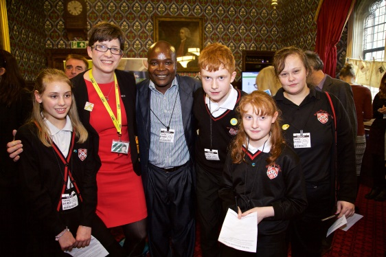 Honley High School with Alison Thewliss MP at Parliament in London