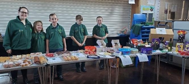 Park Community Academy stall
